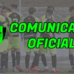 COMUNICADO OFICIAL: SUSPENSIÓN DE LA COMPETICIÓN.